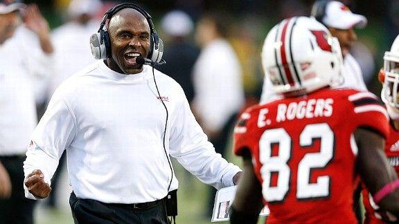 Charlie Strong is a former Meyer assistant at Florida.