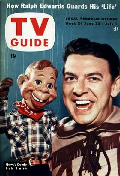 Howdy Doody TV Guide Cover because we know our readers.