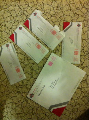 Buckeyes sending out a ton of mail to juniors