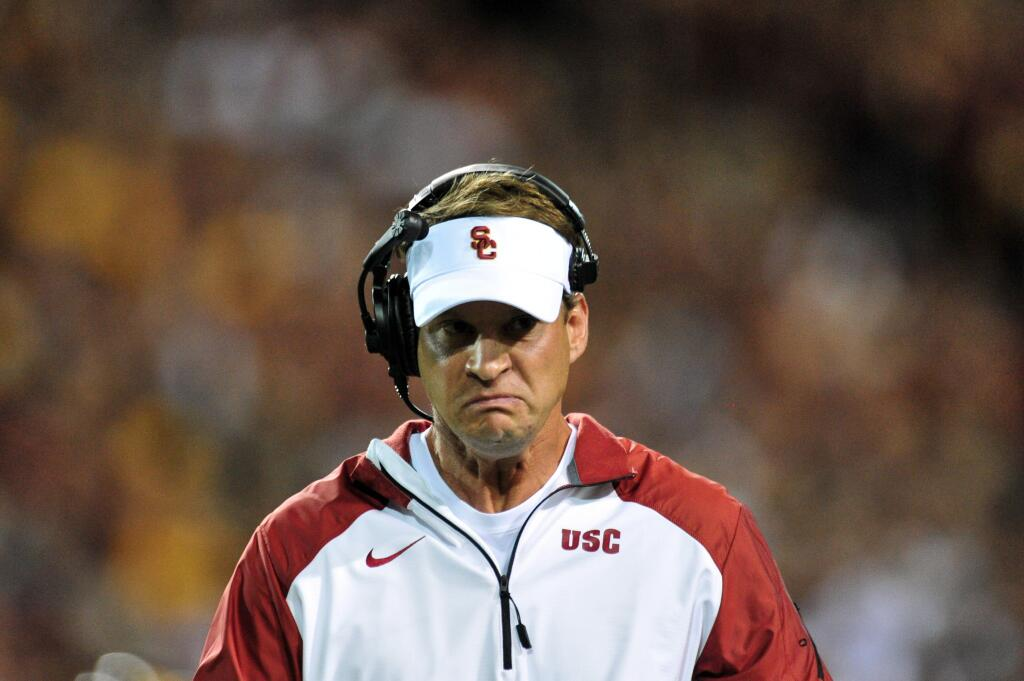 Lane Kiffin is heated, y'all