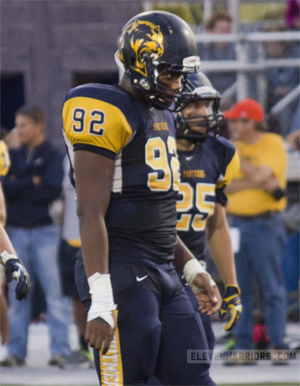 Toledo Whitmer defensive tackle Phil Hoskins