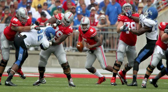 Braxton Miller showed the improvement Urban Meyer has talked about since July.
