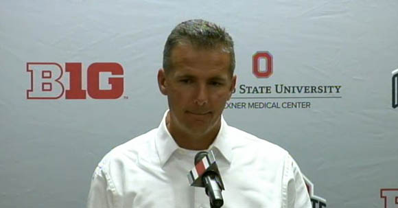 Urban Meyer is still broken up over Bryant's injury.