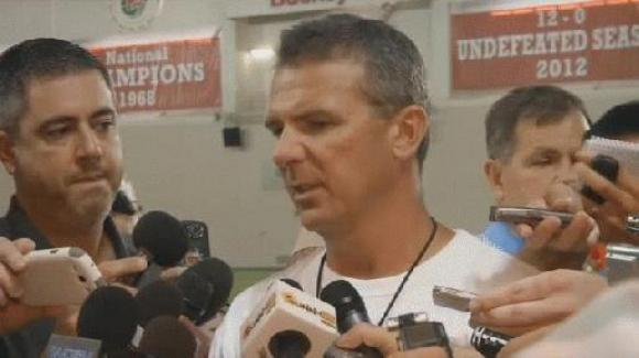 Urban Meyer said Braxton Miller is close to 100 percent.