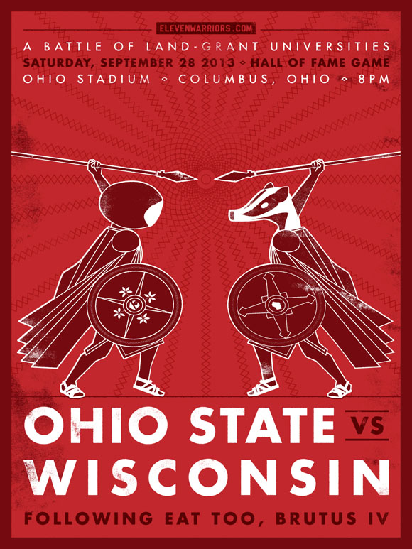 Wisconsin Game Poster – Click to download a hi-res version