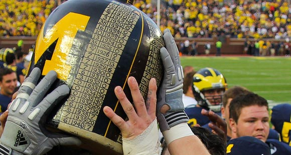 The Little Brown Jug Stays in Ann Arbor (MGoBlog Photo)