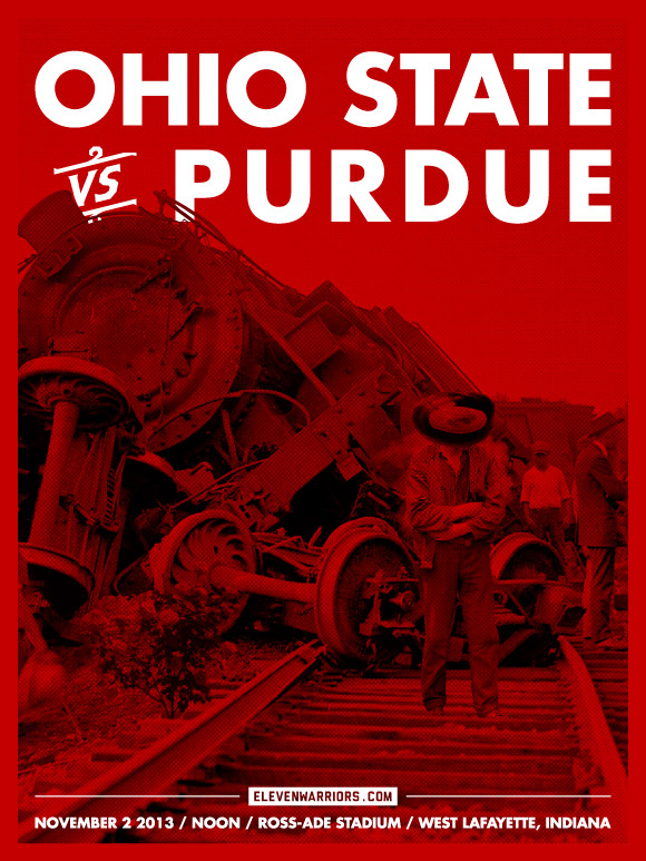 Purdue Game Poster