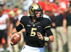 Looking at the numbers and their roster, Etling is really Purdue's only shot.