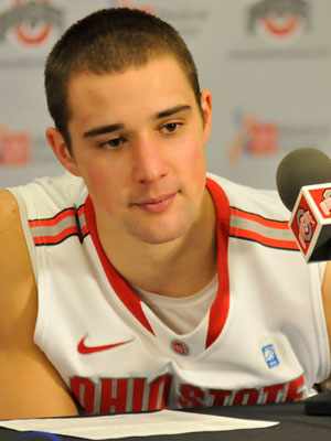 Aaron Craft is so dreamy. <3 <3 He even answers questions adorably. Swoon.