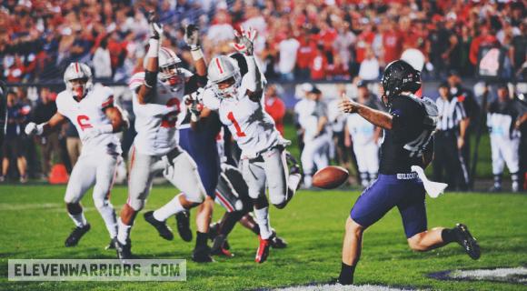 Blocked, touchdown Ohio State.