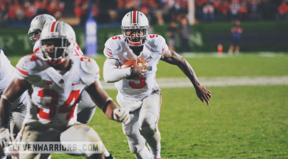 Braxton Miller has been inconsistent in three games this season.