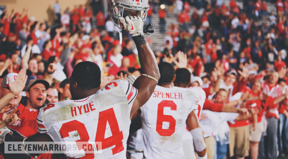 On a career night, Carlos Hyde saved Ohio State's national title hopes.
