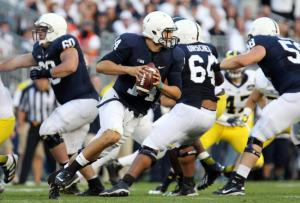 Christian Hackenberg is playing like a fifth-year senior.