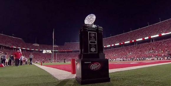 To even get an opportunity to hoist this trophy, many believe Ohio State must win big during the regular season.
