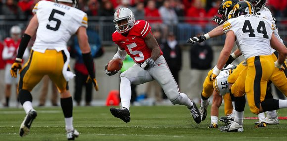 Braxton looked fully nimble on his previously-gimpy knee for the first time all season.