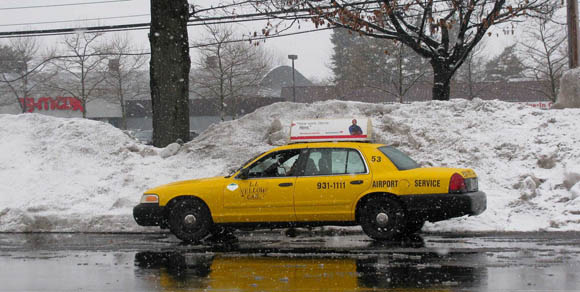 Mike Wiley's snow chariot. Probably.