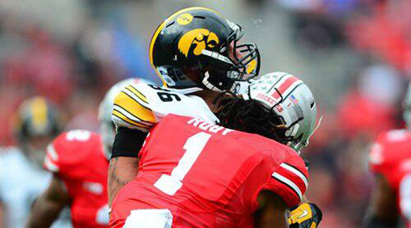 Urban Meyer was cautious talking about this hit.