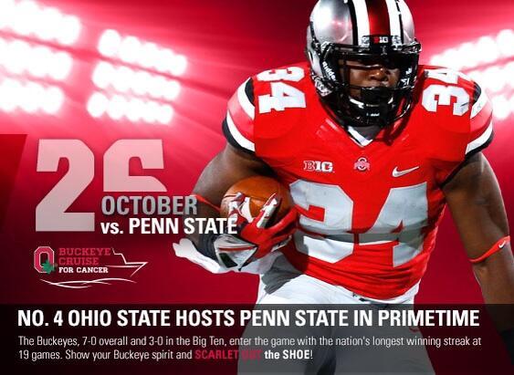Report  Ohio State to Wear Rivalry Uniforms Saturday  2c221f3fb