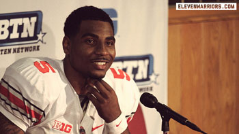 Braxton Miller seems to shine under the lights.