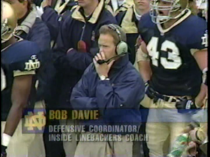 Bob Davie picks his nose dot ewwwwwwww