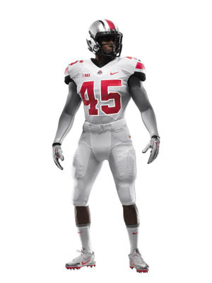 These are the uniforms Ohio State will wear against Michigan.
