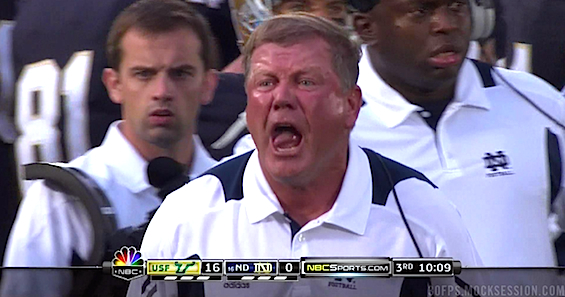 Purple Brian Kelly.