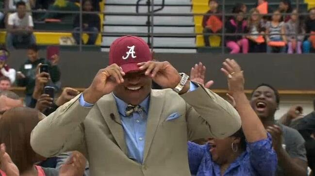 The #1 Prospect in the country chose Alabama.