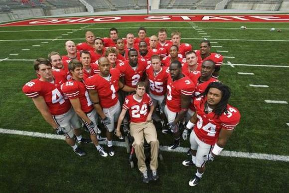 Ohio State has never stopped supporting Tyson Gentry.