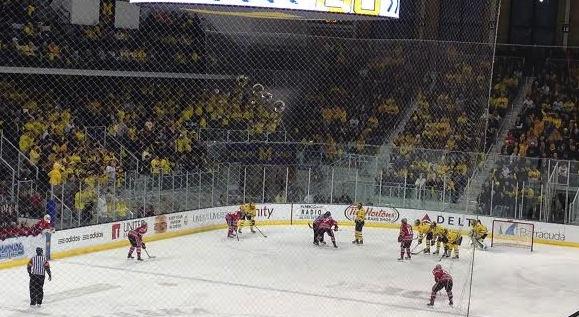 Yost Ice Arena.