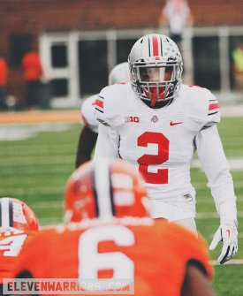 Shazier was busy playing all the LB spots at the same time in Ohio State's win over Illinois