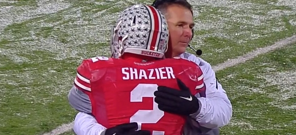 Did Shazier play his last game in the Shoe?