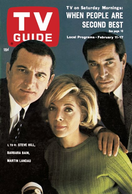 Barbara Bain and Martin Landau were even married for a while.
