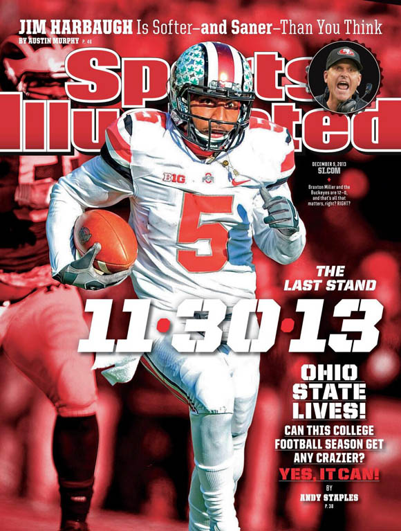 Braxton Miller graces this week's cover of Sports Illustrated