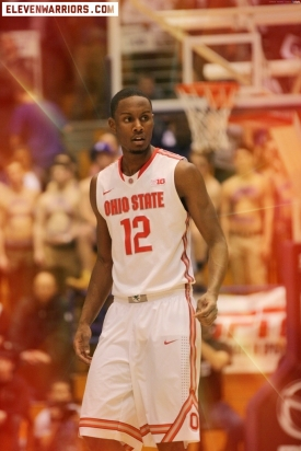 Thompson is still adjusting to life as Ohio State's 6th man