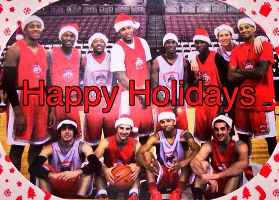 Happy Holidays from Ohio State Basketball