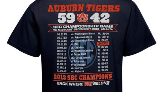 Good try, good effort, Auburn.