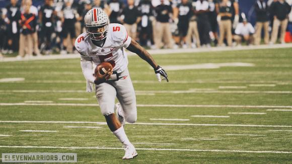 Could this image factor into Braxton Miller's low draft stock?