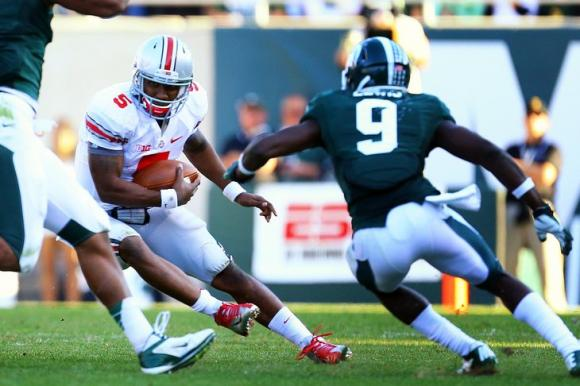 Can Braxton Miller and Ohio State break through Michigan State's defense?