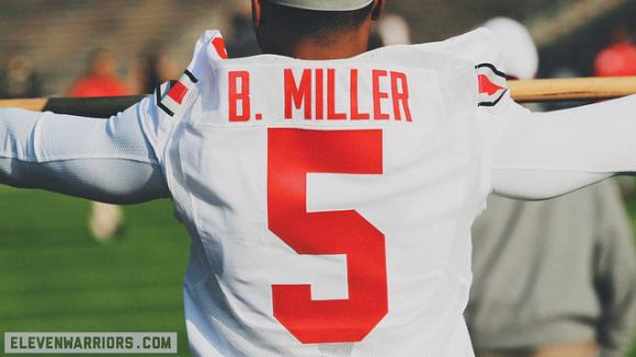 Braxton Miller is nowhere near decidiing about his future.