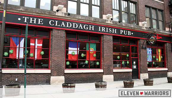 Claddagh is the spot.