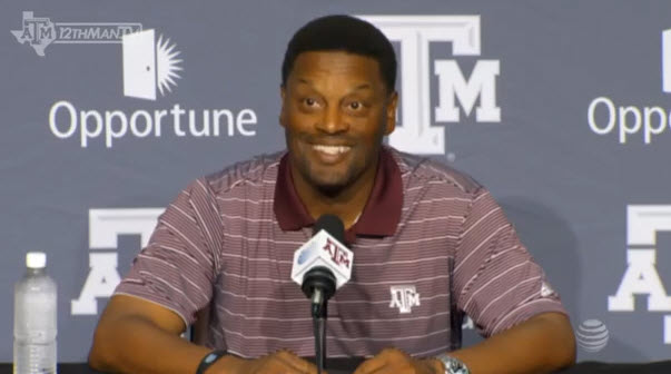 Texas A&M coach Kevin Sumlin will be getting paid $5 million a year from now on. That's paper.