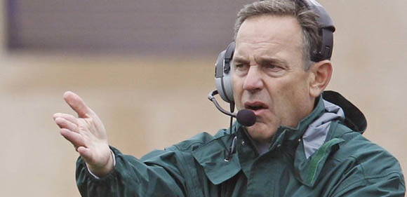 Dantonio is not thinking about losing Saturday's Big Ten Championship game