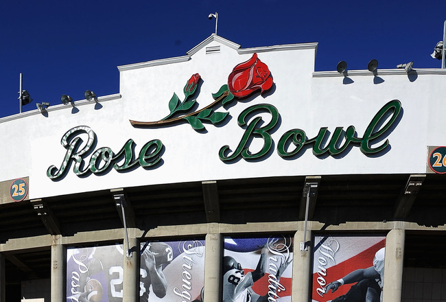 The Rose Bowl facade