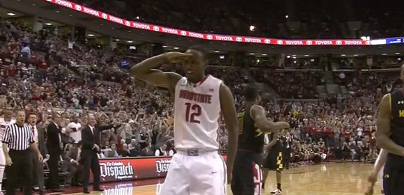 Slam went off for Ohio State