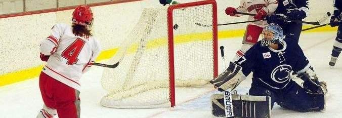 One of twelve goals the lady Buckeyes hung on Penn State last week