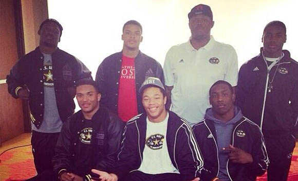 Ohio State commits at the US Army All-American Bowl
