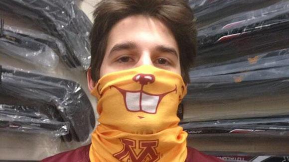 Minnesota hockey mask.