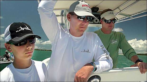 Ohio State Head Fisherman Urban Meyer