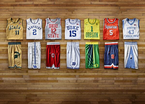 So fresh. So clean. Nike's Hyper Elite Dominance uniforms.