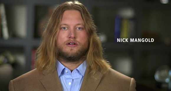 Nick Mangold sings the National Anthem